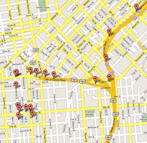 Contoh Peta Jalan Google Map