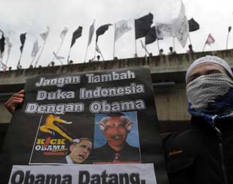 Demo HTI Tolak Obama